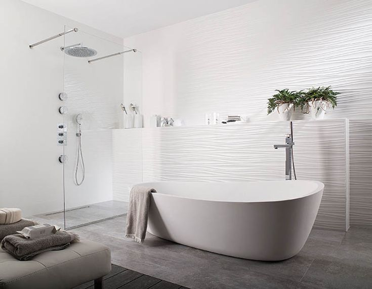 Modern White Bathroom Tile 30 best bathroom images on pinterest | bathroom ideas, bathroom