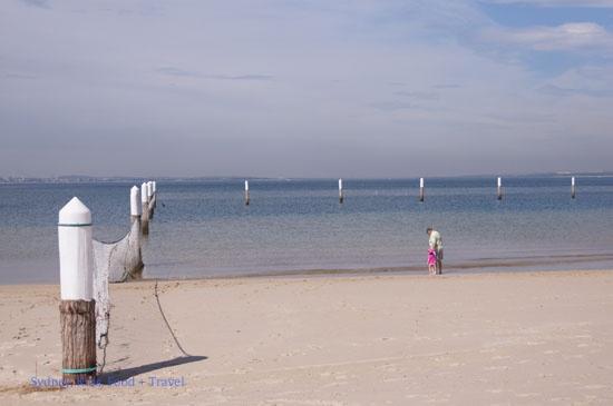 Kyeemagh Beach, Baths and Playground at Brighton-Le-Sands