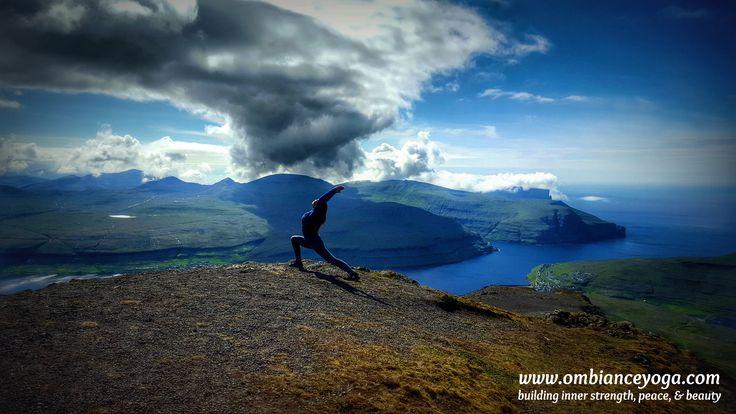 The north Atlantic winds blow cold here, with a lot of rain. Enjoying a brief moment of sunshine atop Mount Slaettaratindur, the highest peak in the Faroe Islands.  Retreat with me! #wanderer #wanderlust #travel #ombianceyoga #solotraveler #traveler #explore #travelgram #travelingyogini #travelbug #traveltips #yoga #yogaretreat #yogatravel #yogalove #timeout #busyworkingprofessionals #motivation #happy #keepitsimple #faroeislands