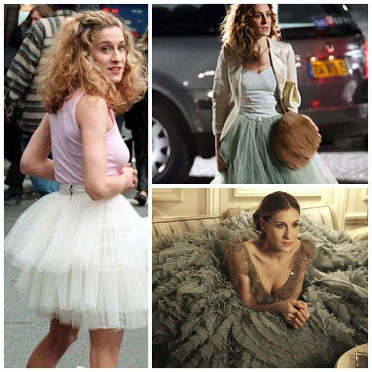 Gonne in tulle - Le gonne in tulle di Sarah Jessica Parker