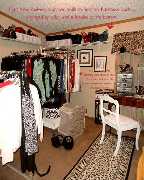 Spare Bedroom Made Into Closet