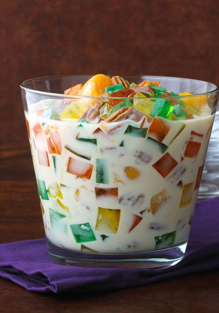 Joyitas de gelatina JELL-O-Enriquécete de sabor con esta maravillosa receta de joyitas de gelatina JELL-O. ¡Niños y adultos la disfrutarán!