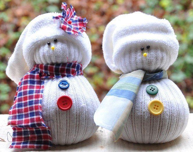 Φτιάξτε μόνοι σας πανέμορφα χιονανθρωπάκια!!! | Το site της παρέας μας