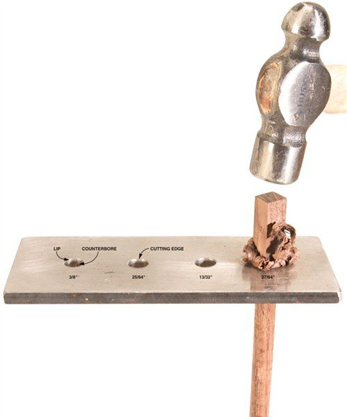 This is a valuable tool that doesn't take long to make. It also makes a great addition to your shaving horse.