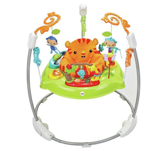 Buy Fisher-Price Roaring Rainforest Jumperoo at Argos.co.uk, visit Argos.co.uk to shop online for Baby bouncers, Baby bouncers and swings, Baby toys, Baby and nursery