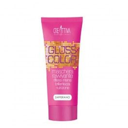 Gloss Color Maschera Zafferano #style #beauty #hairstyle #colore #maschera #modacapelli #capelli