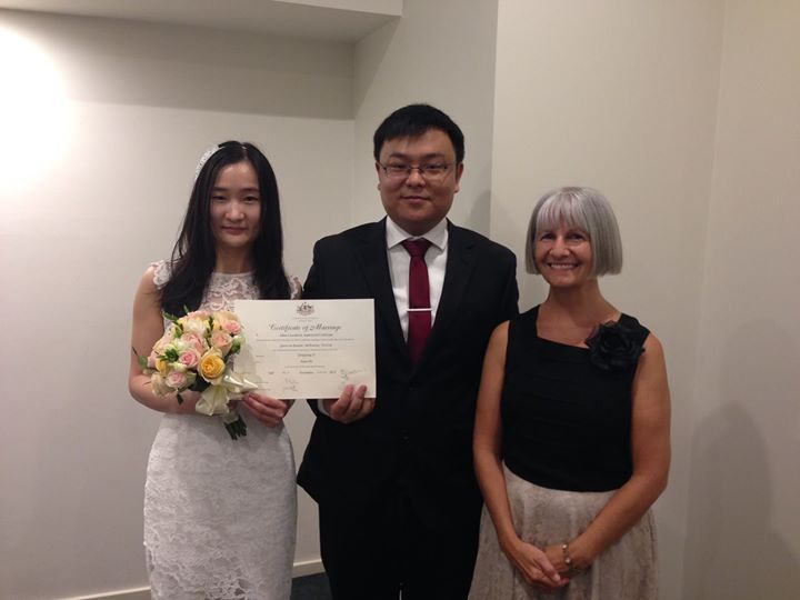 Thanks Mimi for conducting this wonderful marriage ceremony on behalf of Simple Weddings. #Marriage #Weddings #melbourneweddings #couple #melbournecelebrant #melbourne #weddingceremony