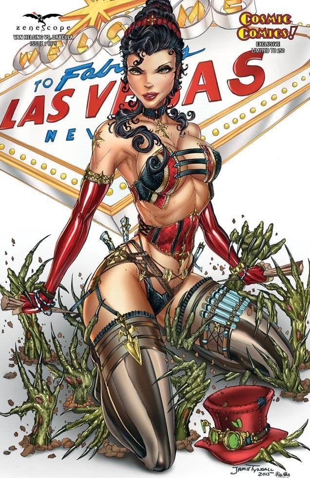 Comics Collectibles Jamie Tyndall Zenescope Artist SIGNED Comic Art