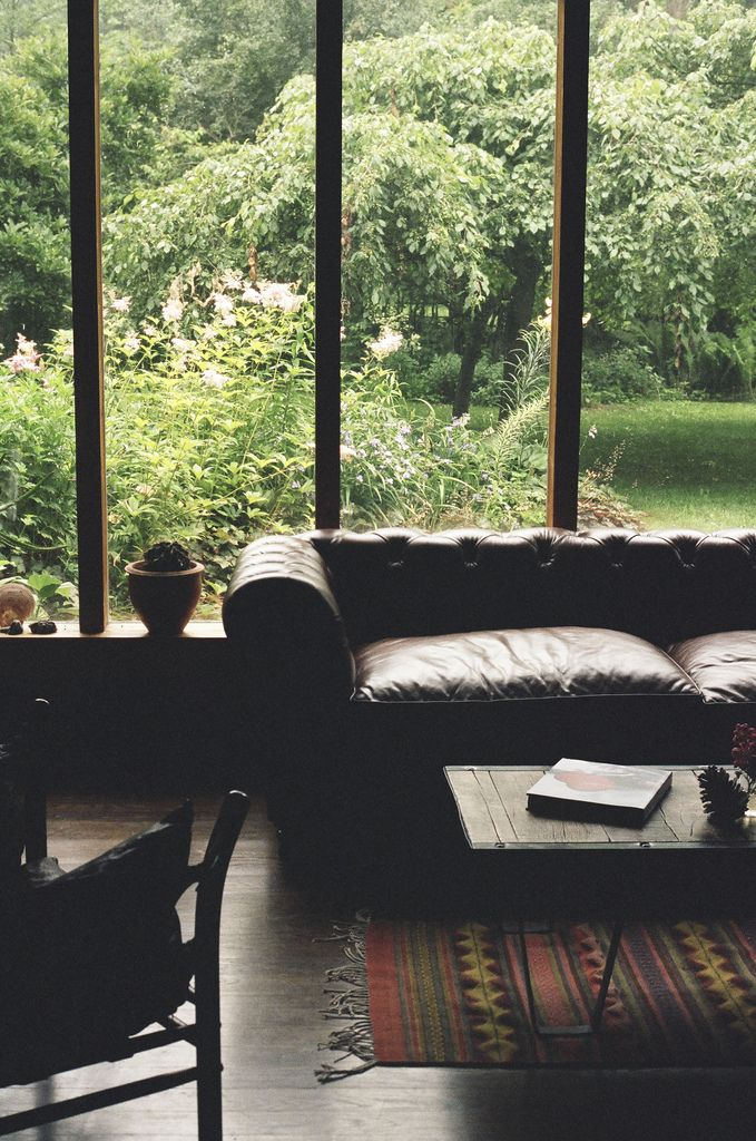 I want a corner like this with huge windows one day where I can pretend the world doesn't exist