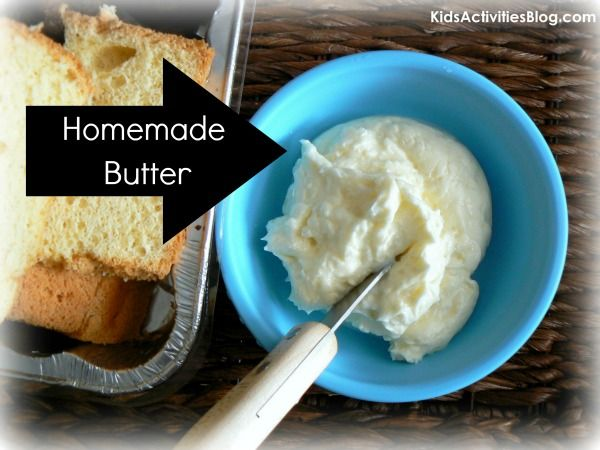 Making Butter With Kids