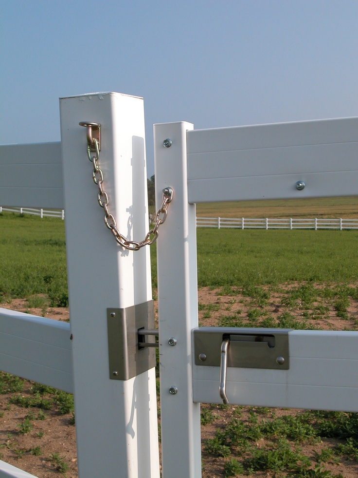 Kel- Chris Farm | GH2 Gralla Equine Architects...fence latch detail...