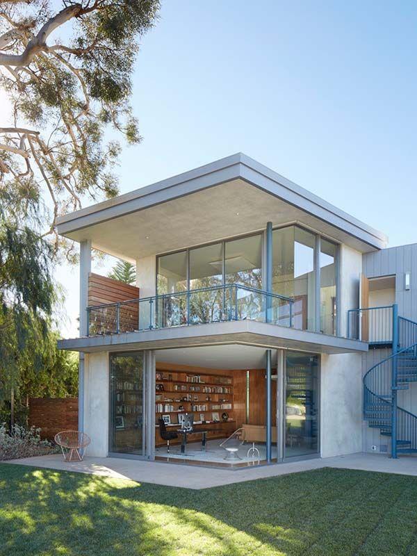 Modern dream home designed for a bachelor in California