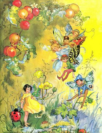 """by Rene Cloke from """"Fairyland Tales"""", William Collins Sons and Co. Ltd., ISBN 0 00 123112 X"""