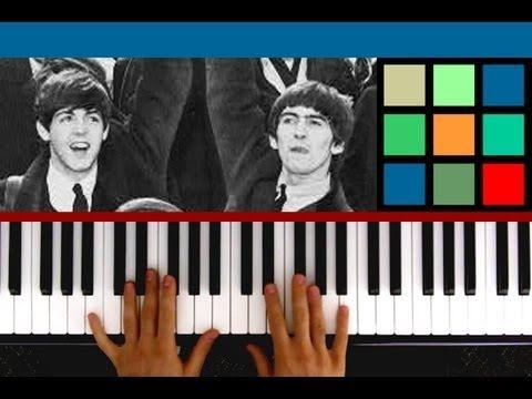 "How To Play ""Blackbird"" Piano Tutorial / Sheet Music (The Beatles)"