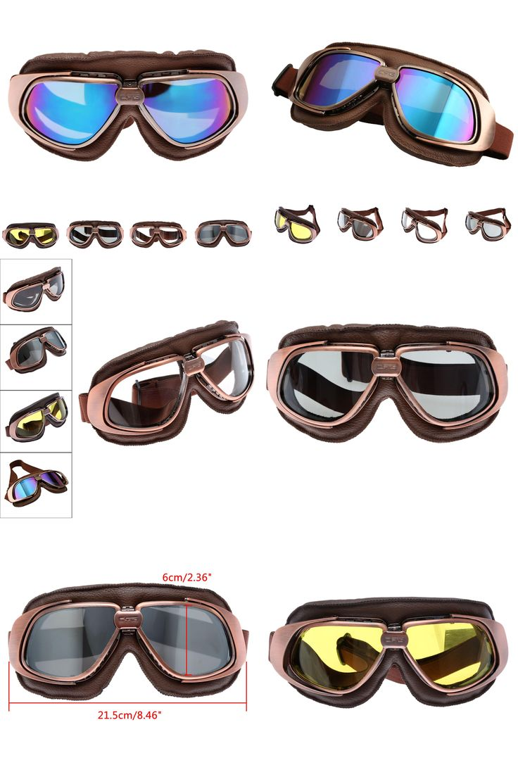 [Visit to Buy] Vintage Motorcycle Goggles Smoking Steampunk Goggles Cheap Coating Sport Sunglasses for Harley Glasses Scooter Goggle Glasses #Advertisement