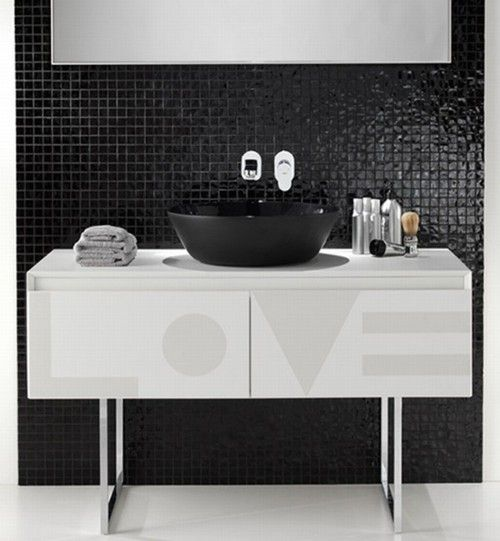74 best black/white bathroom ideas - gold accents images on