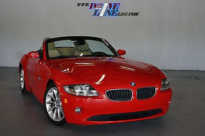 2005 BMW Z4 - Red on Tan!! Convertible works! Financing available! MUST SEE!!!