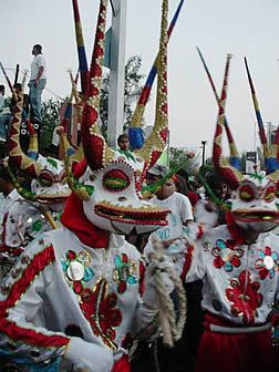 The Dominican carnival is an explosion of joy. A show of cultural identity and spontaneity that encompasses many aspects of Dominican society.