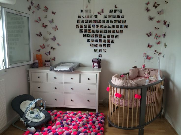 decoration chambre bebe fille bebe pinterest babies. Black Bedroom Furniture Sets. Home Design Ideas