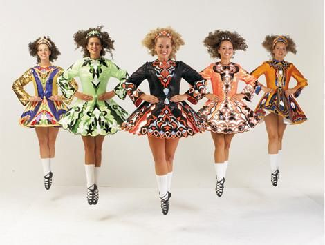 Костюм для ирландских танцев детям