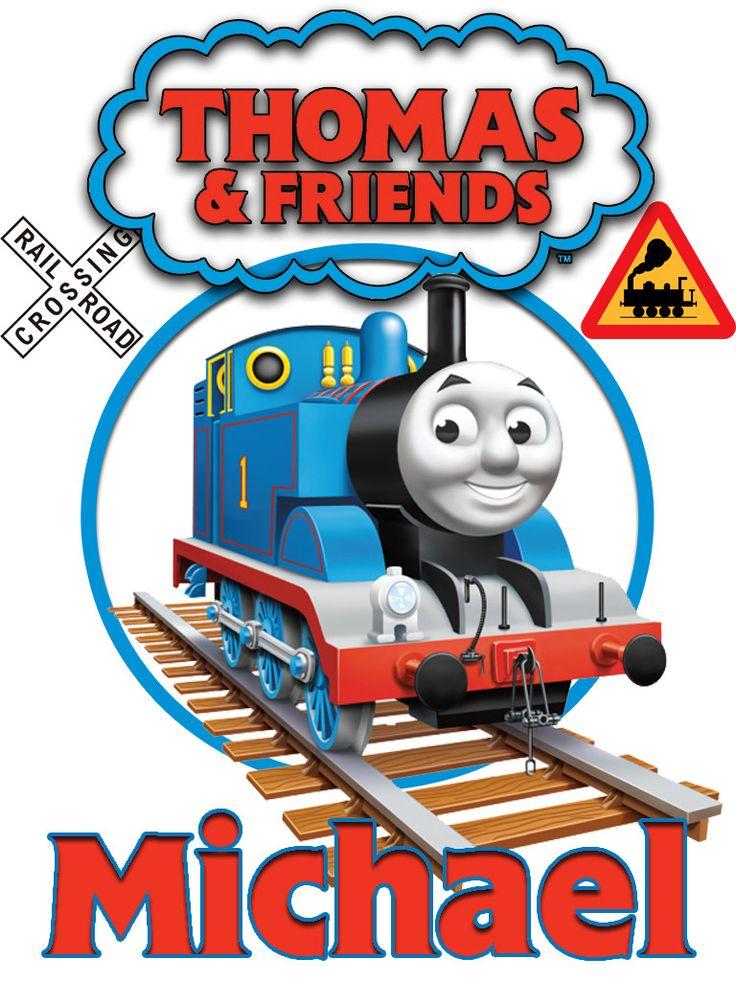 Personalized Custom NAME T-shirt Thomas the Train