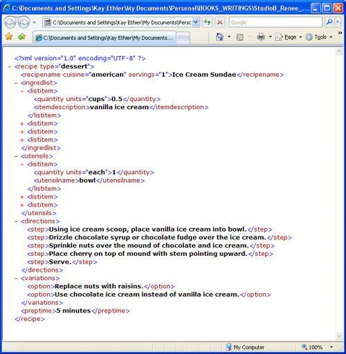 Если вы начинающий пользователь XML, эта статья познакомит вас с основами составления XML-документов, а также с правилами, которым нужно следовать, чтобы получить правильно построенный XML, включая соглашения об именах, правильное вложение тегов, обращение с атрибутами, декларации и объекты.