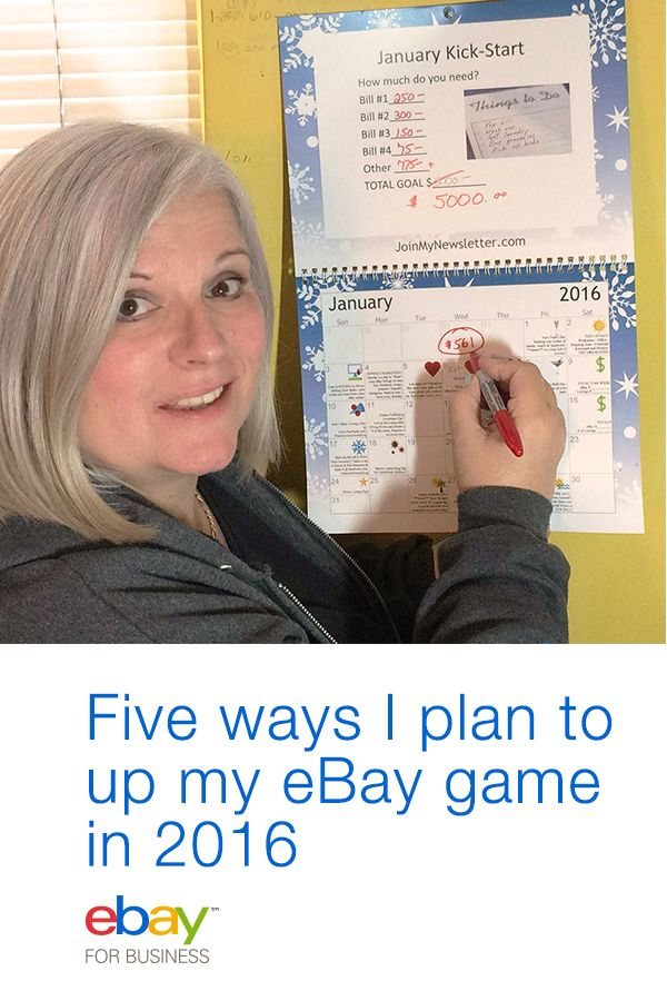 I've been selling on eBay for a long time. But every year I assess what I should be doing differently. After much reflection, here are the five things that I know will help me become a better eBay seller, and make more money in 2016.