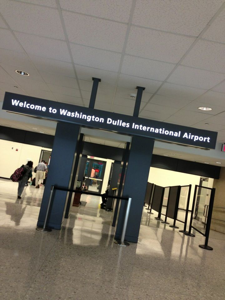 Washington Dulles International Airport IAD in Dulles