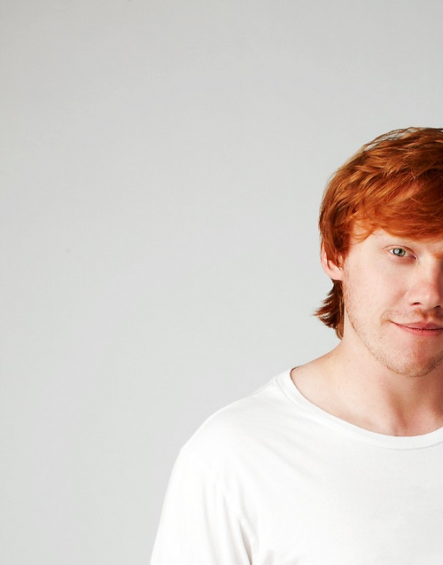 Rupert Grint. Just me or is he absolutely adorable?