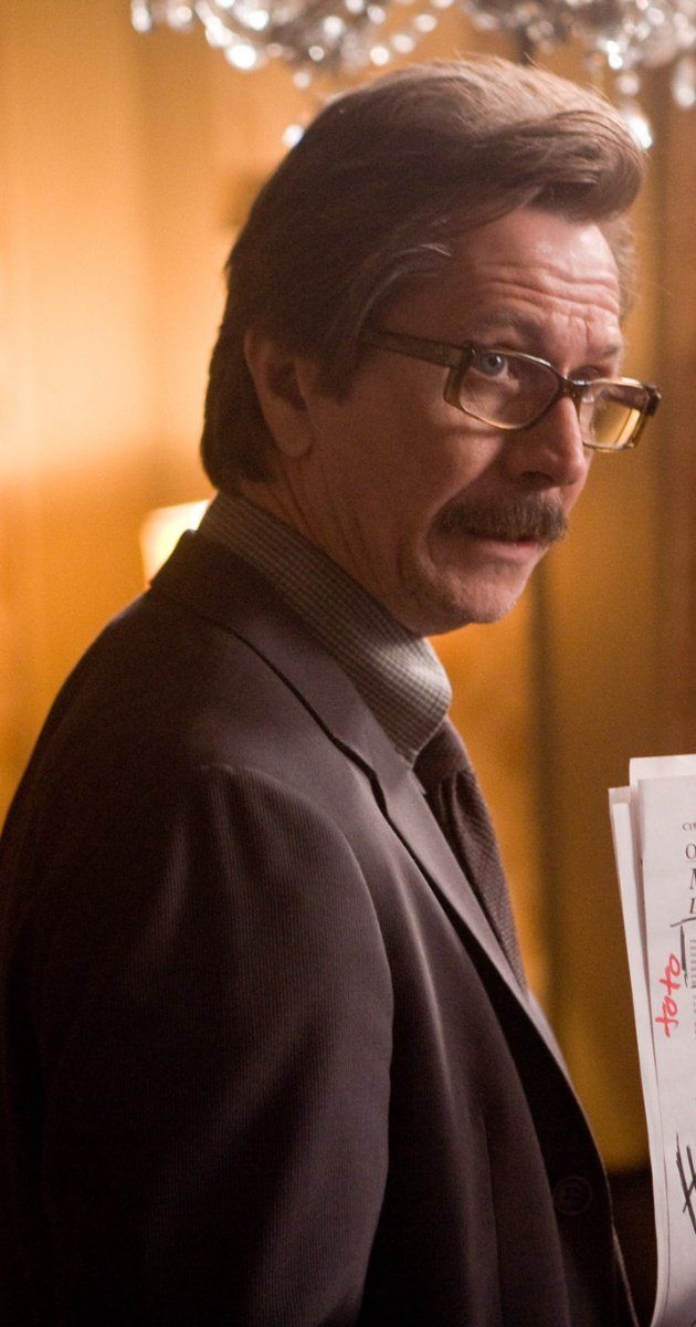 The Dark Knight And Dark Knight Rises. Gary Oldman plays Commisioner Gordon who has complete faith in The Batman.