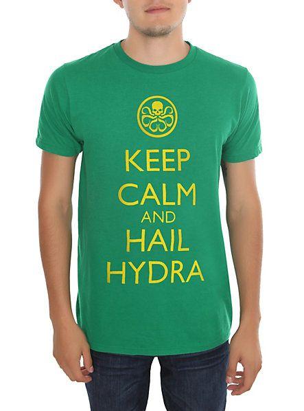 Marvel Keep Calm Hail Hydra T-Shirt - Hot Topic T-Shirt Review