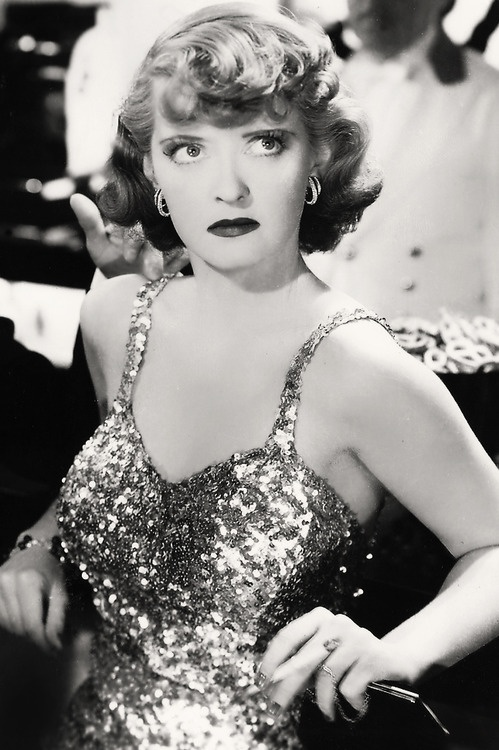 "Bette Davis in Marked Woman. Remarkably like Jack Lemon in ""Some Like It Hot""."