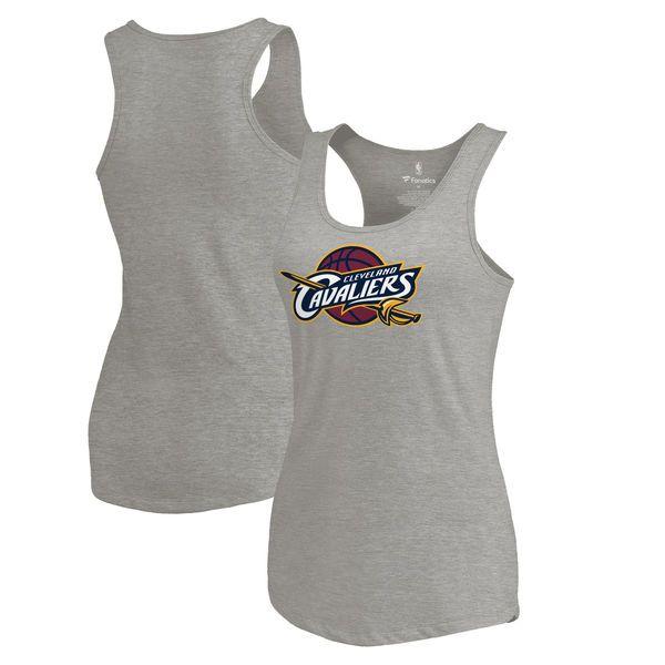 Cleveland Cavaliers Fanatics Branded Women's Primary Logo Team Essentials Tank Top - Gray - $29.99