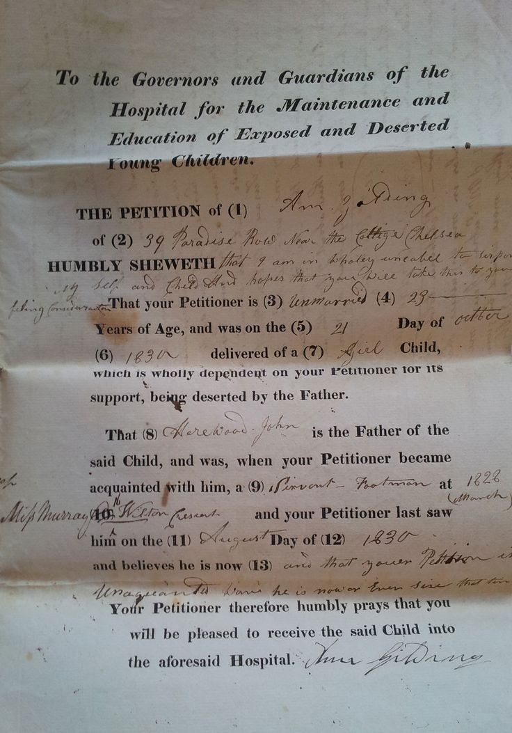 petition cover letter%0A The Vault  Poignant Petitions From Mothers Hoping to Surrender  Illegitimate Children  Image is of the rejected petition of Damaris  Phillips