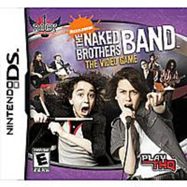 THQ Inc. 785138361741 The Naked Brothers Band: The Video Game for Nintendo DS