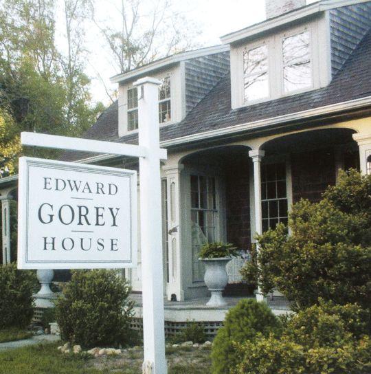 Edward Gorey House, Yarmouth Port, MA - Home of macabre illustrator and author Edward Gorey.