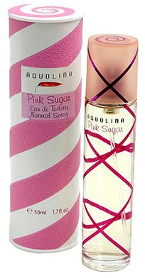 """Pink Sugar fragrance from Aquolina. My most beloved and signature fragrance!        """"Stylish and lively, with a distinctive personality, Pink Sugar takes you on a journey through the pleasures and flavors of childhood with a playful blend of vanilla and caramel."""" - Sephora"""