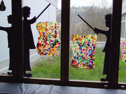 afbeeldingsresultaat voor herbst fenster schule basteltip pinterest window art and craft. Black Bedroom Furniture Sets. Home Design Ideas