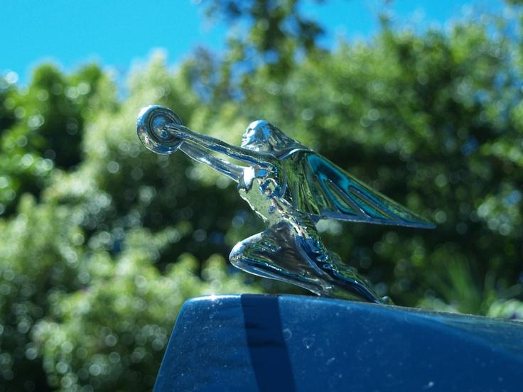 Packard bonnet mascot at Cape Town Classic Car Show