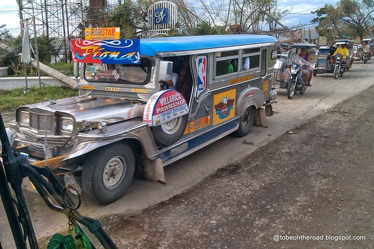 To Be On The Road: Jeepney One Of The Many Modes Of Transport In Phil...