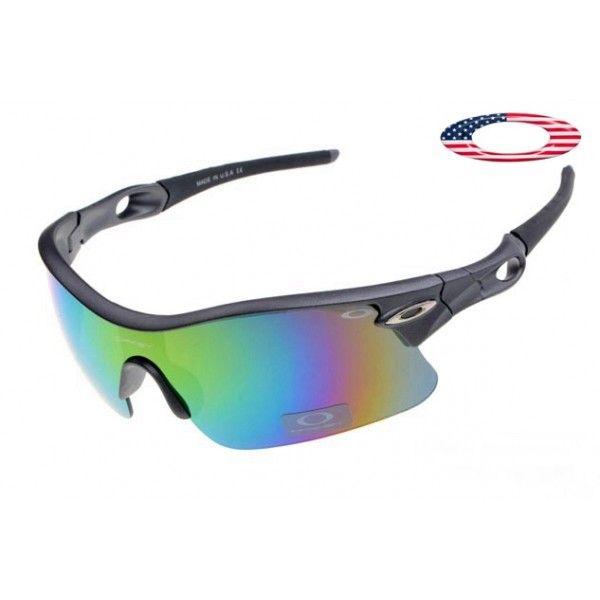 $13 - Free oakley sunglasses radar pitch matte grey / fire iridium