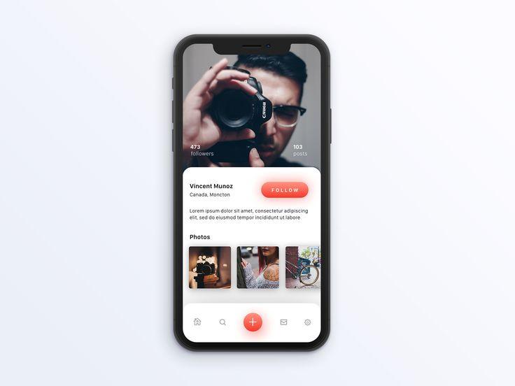 https://dribbble.com/shots/4024020-Unsplash-Profile-Page-iOS-concept/attachments/921884