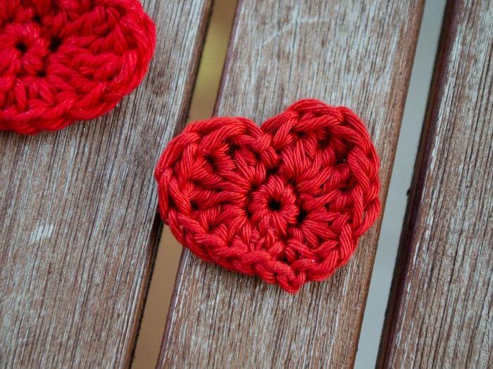Ein kleines rotes Herz - Crochet Hearts Pattern - Über den Traum - 1.00 €