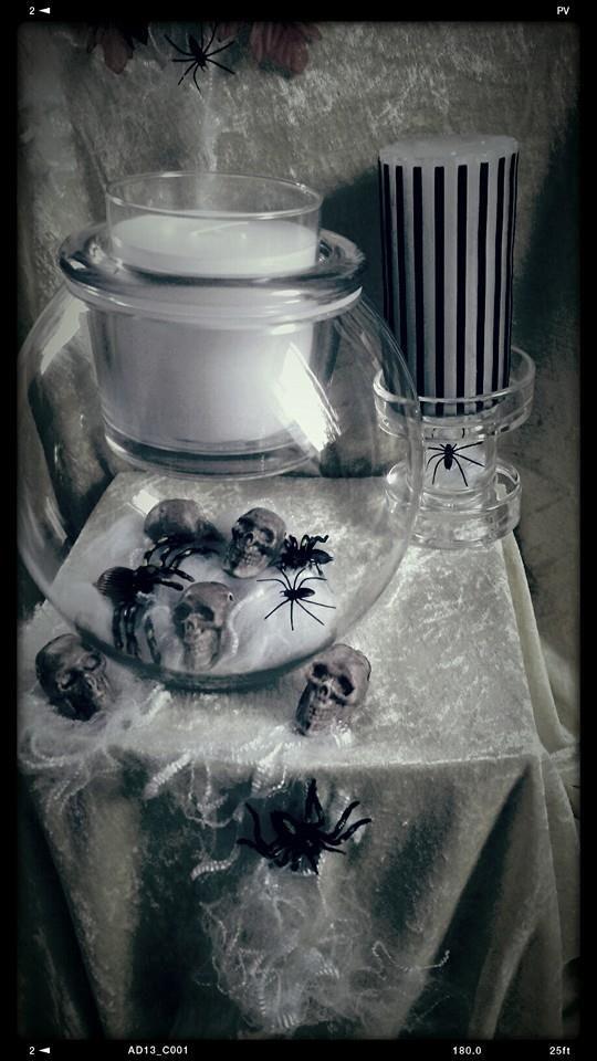 Halloween in schwarz / weiß von Silvia Aumüller