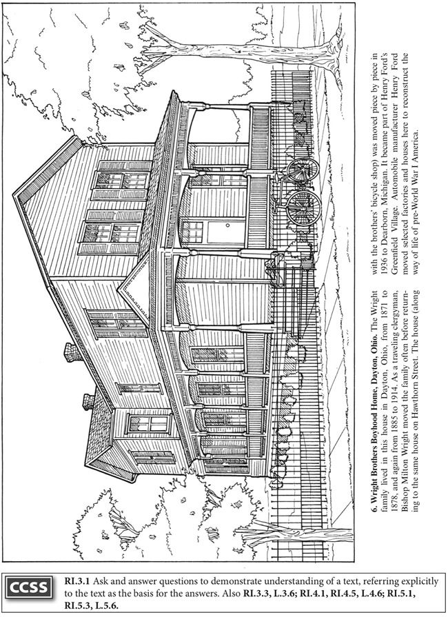 coloring pages for wright brothers - photo#23