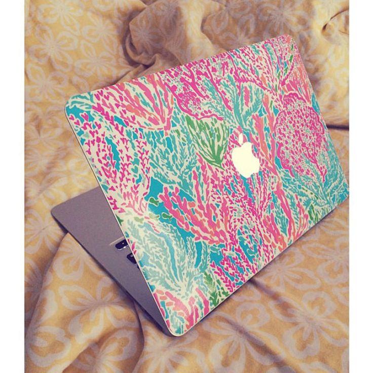 Lilly Pulitzer Inspired Macbook SKIN