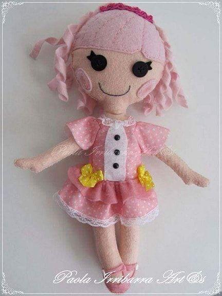 Шитье куклы с выкройкой своими руками