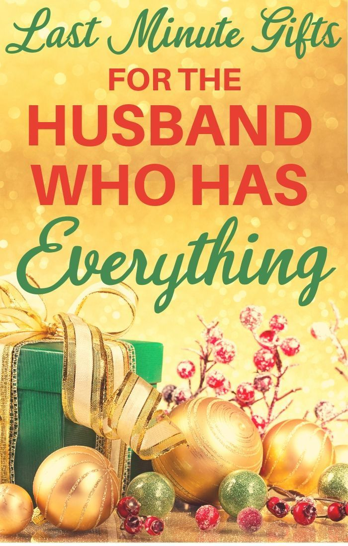 Christmas Gift Ideas For Husband Who Has Everything 2020 Christmas Gifts For Husband Last Minute Christmas Gifts Christmas Gifts For Men