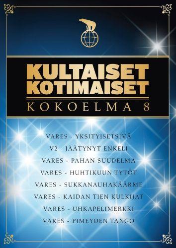 Kultaiset kotimaiset - Kokoelma 8 (DVD)
