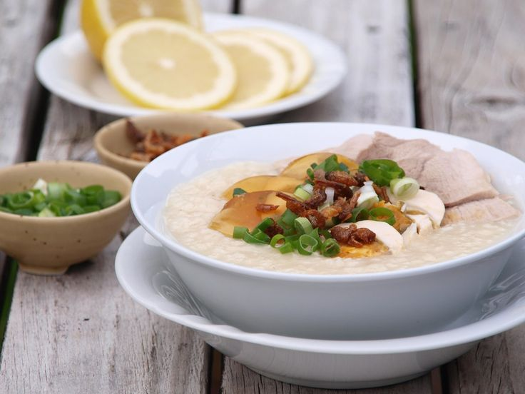 Lean Pork and Century Egg Congee